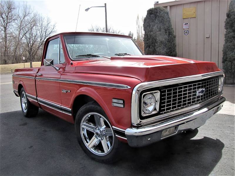 1971 Chevrolet C/K 10 Series for sale at Street Dreamz in Denver CO