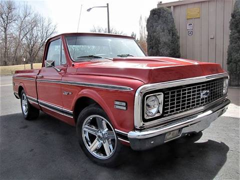 1971 Chevrolet C/K 10 Series for sale at Street Dreamz in Denver CO