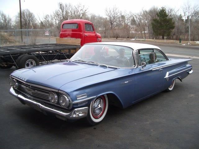 1960 Chevrolet Bel Air for sale at Street Dreamz in Denver CO