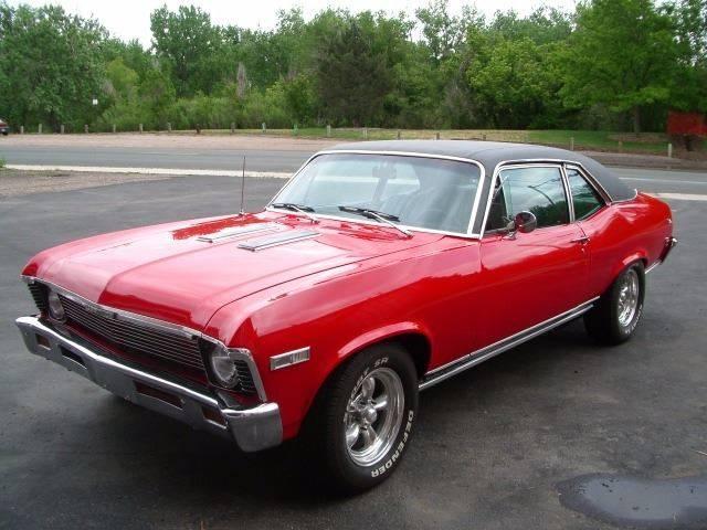 1968 Chevrolet Nova for sale at Street Dreamz in Denver CO