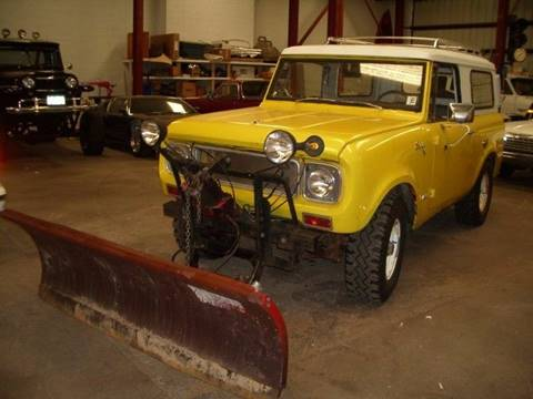 1967 International Scout for sale at Street Dreamz in Denver CO