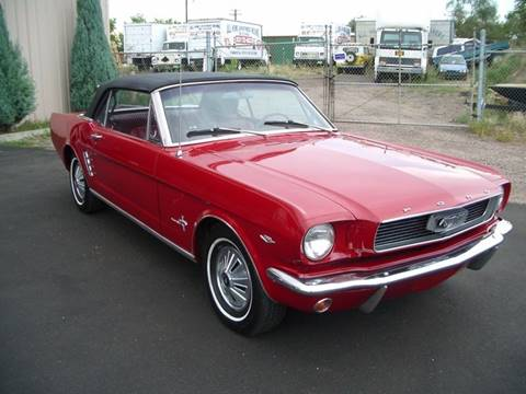 1966 Ford Mustang for sale at Street Dreamz in Denver CO