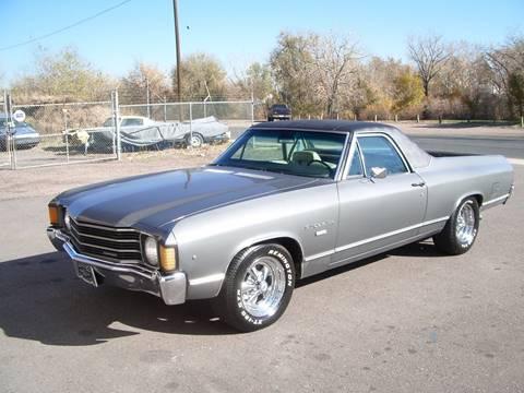 1972 Chevrolet El Camino for sale at Street Dreamz in Denver CO