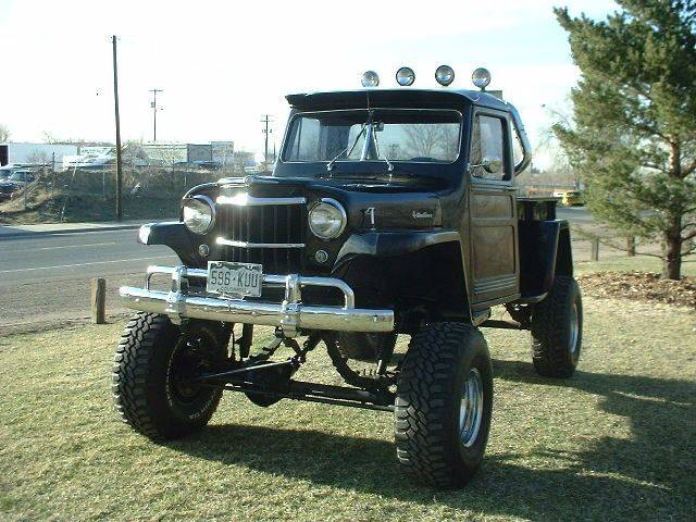 1959 Willys Jeep for sale at Street Dreamz in Denver CO