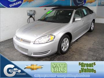 2009 Chevrolet Impala for sale in Durand, MI
