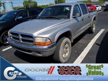 2001 Dodge Dakota for sale in Durand, MI