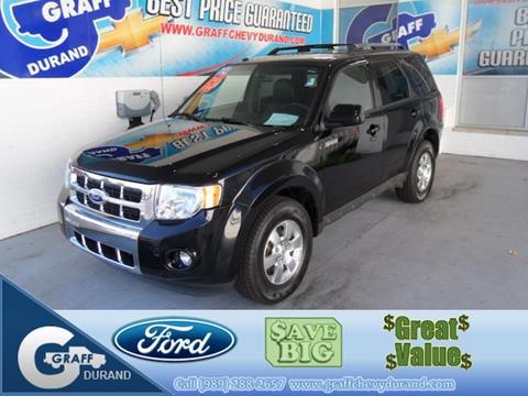 2012 Ford Escape for sale in Durand, MI