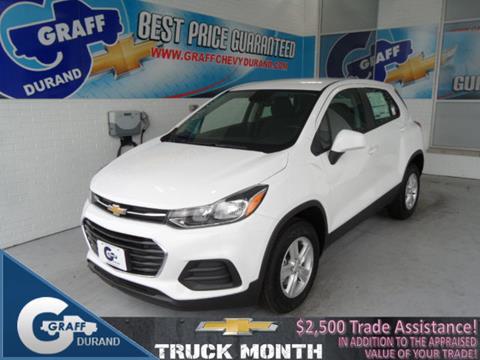 2017 Chevrolet Trax for sale in Durand, MI
