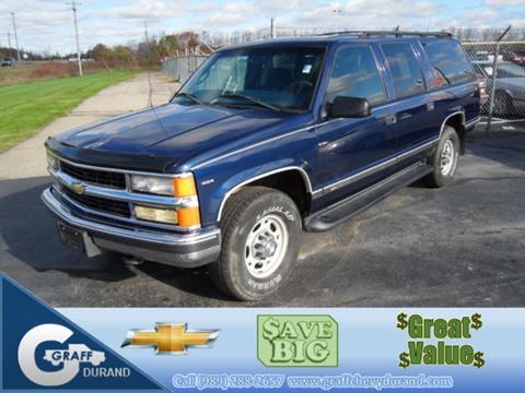 1999 Chevrolet Suburban For Sale Carsforsale Com
