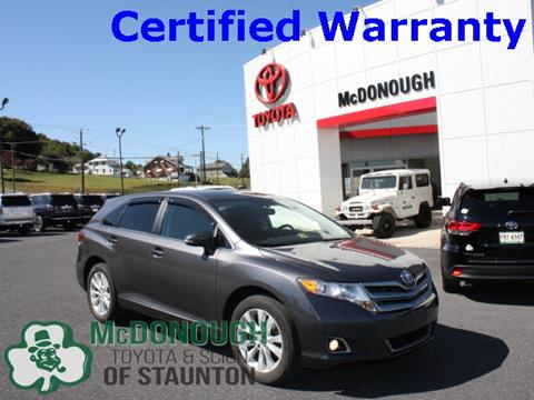 2014 Toyota Venza for sale in Staunton, VA