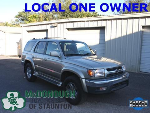 2001 Toyota 4Runner for sale in Staunton, VA