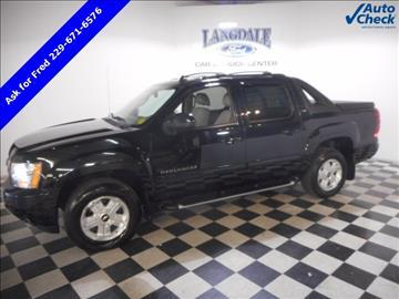 2011 Chevrolet Avalanche for sale in Valdosta, GA