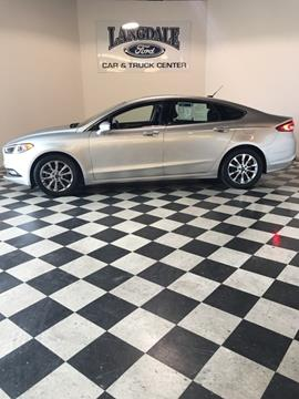 2017 Ford Fusion for sale in Valdosta, GA