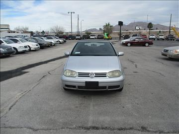 2002 Volkswagen Cabrio for sale in Las Vegas, NV