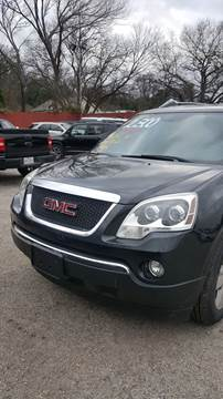 2012 GMC Acadia for sale in Fort Worth, TX