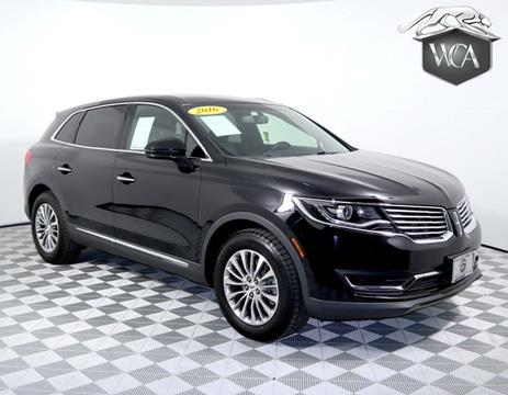 2016 Lincoln MKX for sale in Montclair, CA