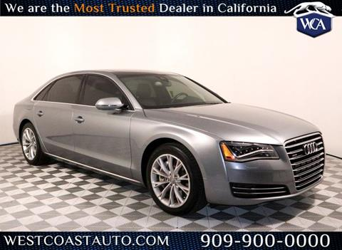 2011 Audi A8 L for sale in Montclair, CA