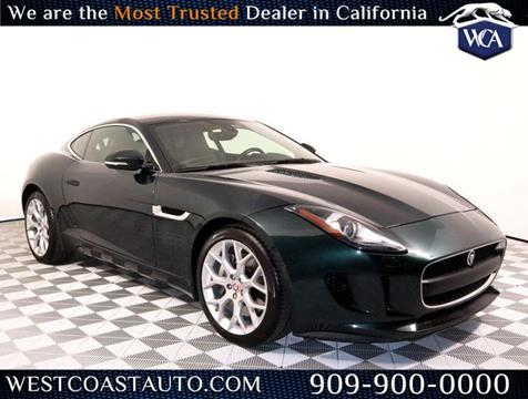 2015 Jaguar F-TYPE for sale in Montclair, CA