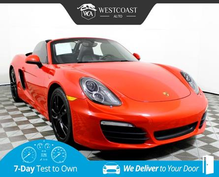 2015 Porsche Boxster for sale in Montclair, CA