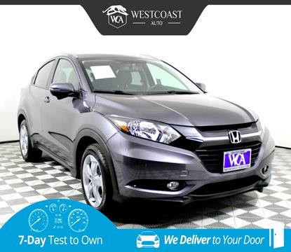 2016 Honda HR-V for sale in Montclair, CA