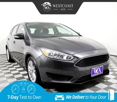 2017 Ford Focus for sale in Montclair, CA