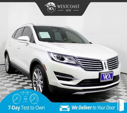 2016 Lincoln MKC for sale in Montclair, CA
