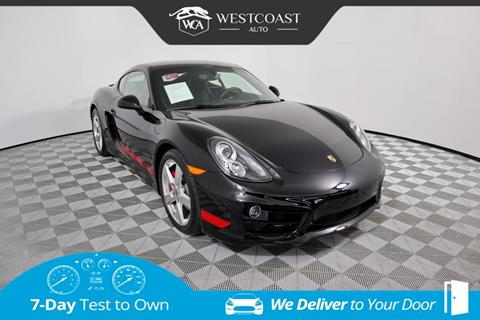 2015 Porsche Cayman for sale in Montclair, CA