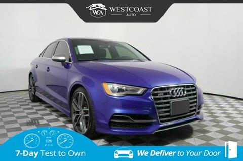2016 Audi S3 for sale in Montclair, CA