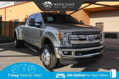 2017 Ford F-450 Super Duty for sale in Montclair, CA