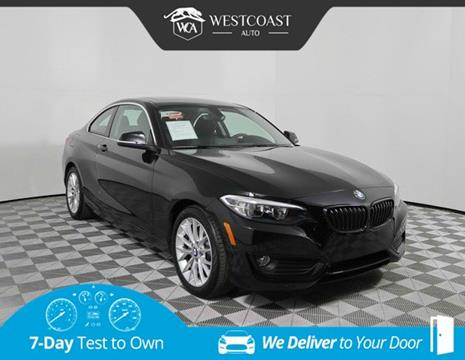 2015 BMW 2 Series for sale in Montclair, CA