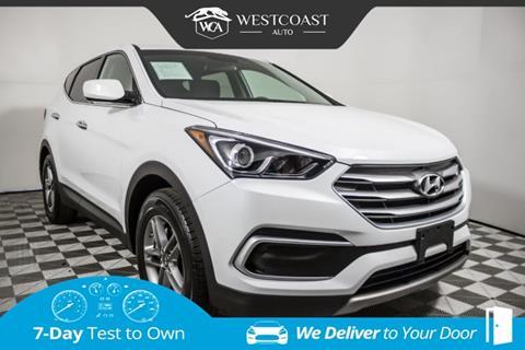 2018 Hyundai Santa Fe Sport for sale in Montclair, CA