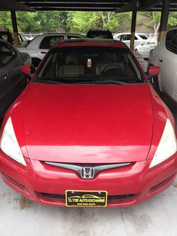 2004 Honda Accord for sale at Clyde Auto Exchange, LLC in Clyde NC