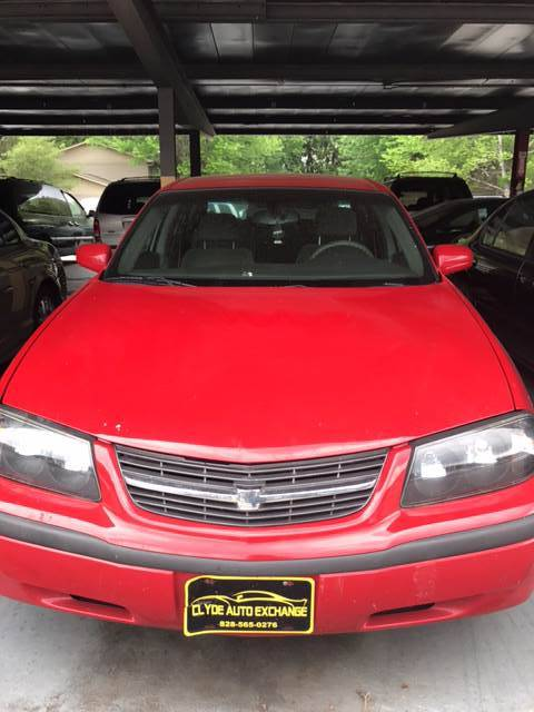 2004 Chevrolet Impala for sale at Clyde Auto Exchange, LLC in Clyde NC