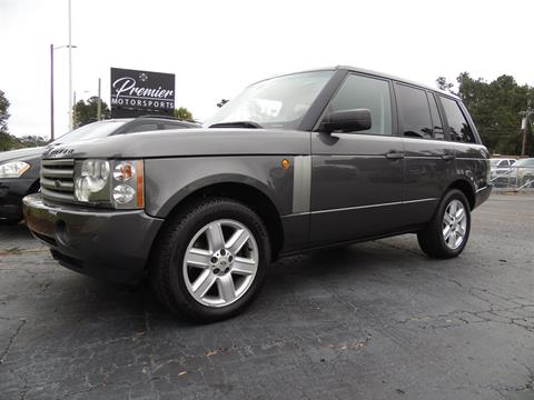 2005 Land Rover Range Rover for sale in Loris, SC
