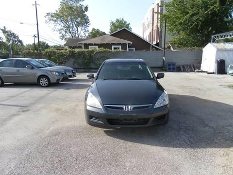 2007 Honda Accord for sale at Saipan Auto Sales in Houston TX