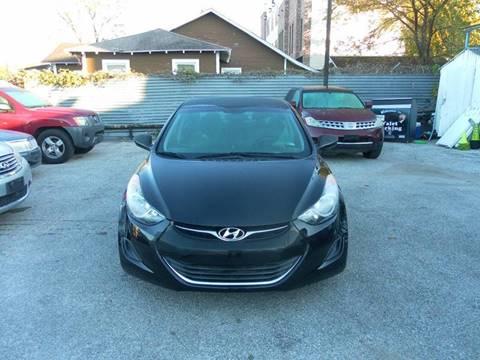 2013 Hyundai Elantra for sale at Saipan Auto Sales in Houston TX
