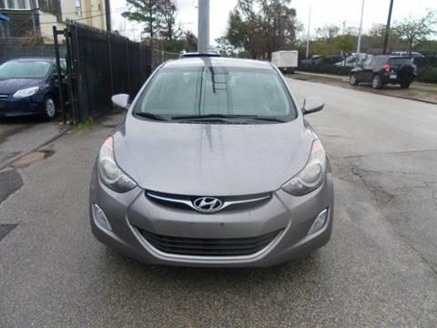 2012 Hyundai Elantra for sale at Saipan Auto Sales in Houston TX