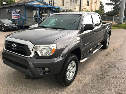 2012 Toyota Tacoma for sale at Saipan Auto Sales in Houston TX