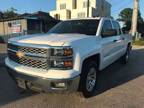 2014 Chevrolet Silverado 1500 for sale at Saipan Auto Sales in Houston TX