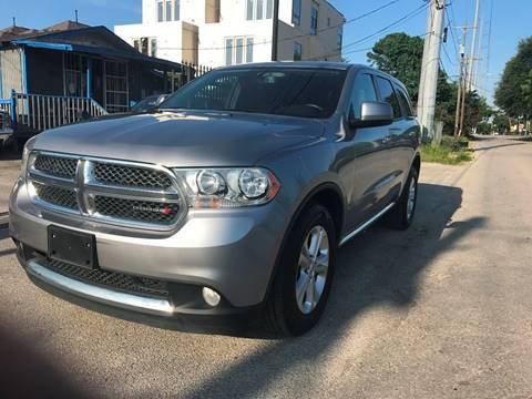 2013 Dodge Durango for sale at Saipan Auto Sales in Houston TX