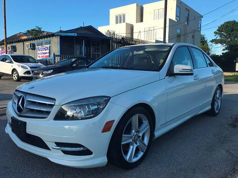 2011 Mercedes-Benz C-Class for sale at Saipan Auto Sales in Houston TX