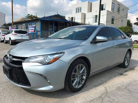 2015 Toyota Camry for sale at Saipan Auto Sales in Houston TX
