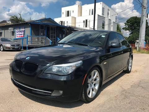 2010 BMW 5 Series for sale at Saipan Auto Sales in Houston TX