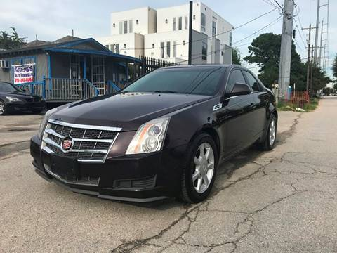 2009 Cadillac CTS for sale at Saipan Auto Sales in Houston TX