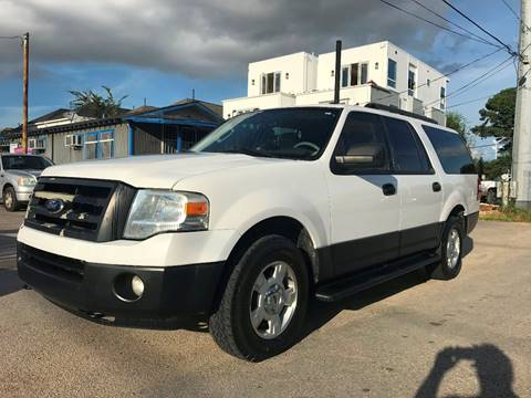 2012 Ford Expedition EL for sale at Saipan Auto Sales in Houston TX