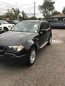2005 BMW X3 for sale at Saipan Auto Sales in Houston TX