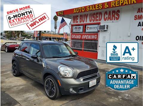 2012 MINI Cooper Countryman for sale in Garden Grove, CA