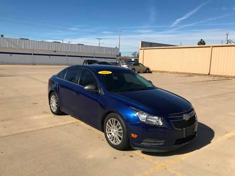 2012 Chevrolet Cruze for sale in Wichita, KS