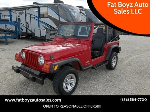 2006 Jeep Wrangler for sale in Union, MO