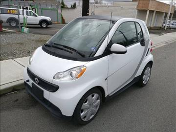 2013 Smart fortwo for sale in Everett, WA